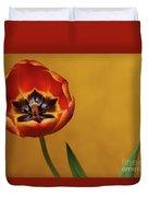 Orange Tulip 2 Duvet Cover