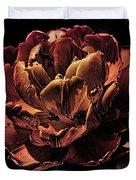 Orange Tulip Duvet Cover