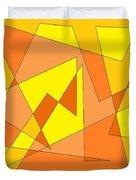Orange You Banana Duvet Cover