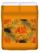 Orange You Lovely Easter Duvet Cover