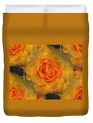 Orange You Lovely Duvet Cover