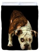 Orangeenglish Bulldog Dog Art - 1368 - Bb Duvet Cover