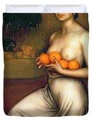 Oranges And Lemons Duvet Cover