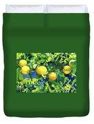 Oranges On Vine IIi Duvet Cover