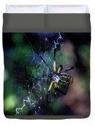 Orb Weaver Duvet Cover