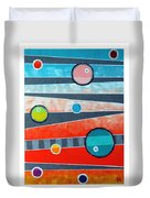 Orbs On Planes #2 Duvet Cover