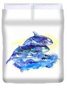 Orca Fantasy Duvet Cover