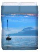 Orcas Sailboat Duvet Cover