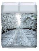 Orchard In White Duvet Cover