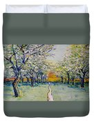 Orchard Path Duvet Cover