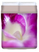 Orchid Abstract Duvet Cover