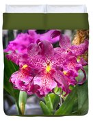 Orchid Aliceara Marfitch Duvet Cover