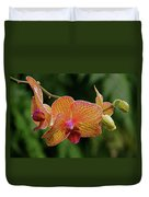 Orchid Aliveness Duvet Cover