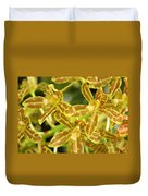 Orchid Drama Canvas Duvet Cover