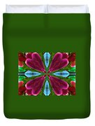 Orchid Frenzy Duvet Cover