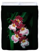 Orchid Group Duvet Cover