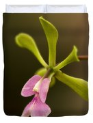 Orchid In Bloom Duvet Cover