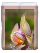 Orchid In Profile Duvet Cover