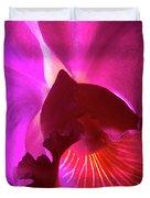 Orchid Landscape Duvet Cover