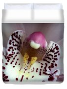 Orchid Like A Muzzle Duvet Cover