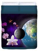 Orchid Moon Base Duvet Cover