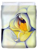 Orchid Mouth Duvet Cover