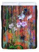Orchid O Duvet Cover