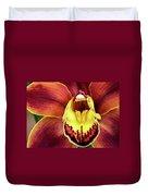 Orchid Queen Duvet Cover