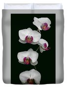 Orchid Sequence  Duvet Cover