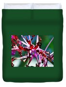Orchid Spider Duvet Cover
