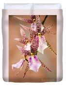 Orchid Stars Duvet Cover