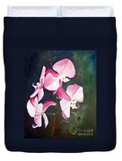 Orchid Study IIi Duvet Cover