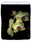 Orchids Duvet Cover