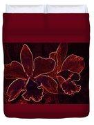 Orchids - For Pele Duvet Cover