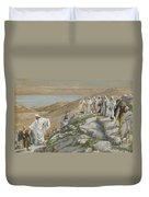 Ordaining Of The Twelve Apostles Duvet Cover by Tissot