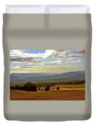 Oregon - Land Of The Setting Sun Duvet Cover by Christine Till