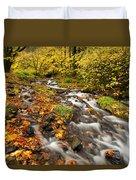 Oregon Autumn Beauty Duvet Cover