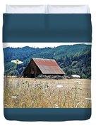 Oregon Barn Duvet Cover
