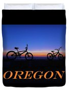 Oregon Bikes 2 Duvet Cover