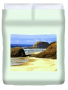Oregon Coast 18 Duvet Cover