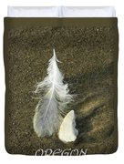 Oregon Feather Duvet Cover