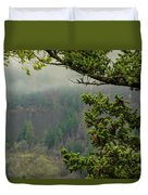 Oregon Fir Washington Forest Duvet Cover