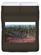 Oregon Landscape - Crater At Lava Butte Duvet Cover