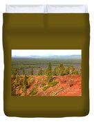 Oregon Landscape - View From Lava Butte Duvet Cover