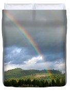 Oregon Rainbow Duvet Cover
