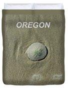 Oregon Sand Dollar Duvet Cover