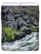 Oregon's Dillon Falls Duvet Cover