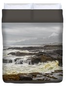 Oregon's Rugged Coast Duvet Cover by Dick Wood