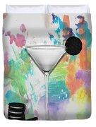 Oreo Happy Hour Watercolor Bg Duvet Cover