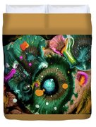 Organic Abstract 3 Duvet Cover